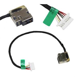 DC POWER JACK w// CABLE HP PAVILION 15-AB004LA 15-AB010NR 15-AB020CA 15-AB023CL