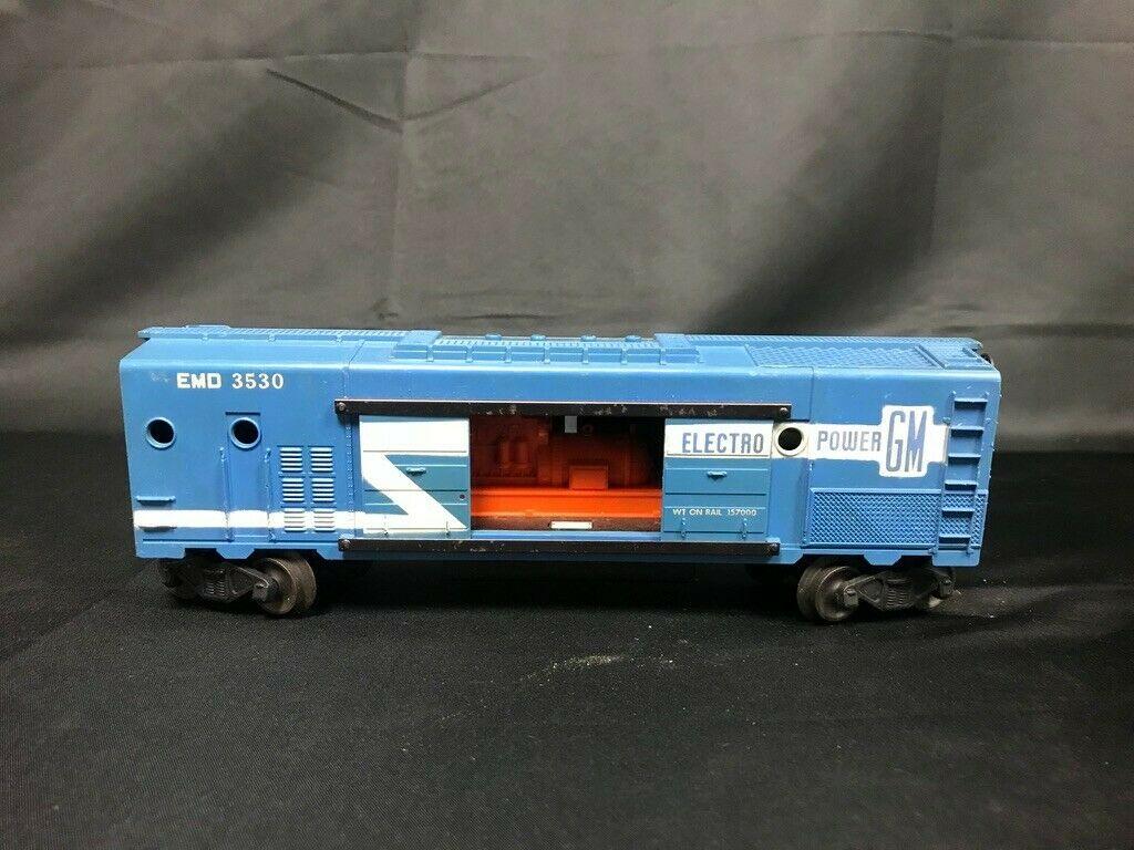 Lionel 3530 EMD Electric Mobile Generator auto Only