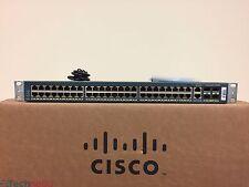 Cisco Catalyst 4948 WS-C4948-S 48 Port L3 Gigabit Switch Dual AC Power Supplies