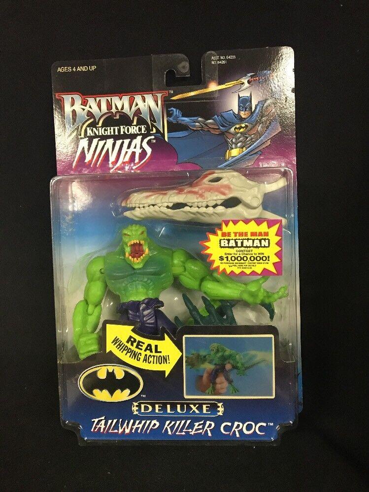 Batman tailwhip killer croc ritter kraft ninjas  6 bendable action - figur ws21