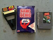 Game Genie For NES (Galoob Model 7356) With Instructions 1990-1991 Plus 1 Game