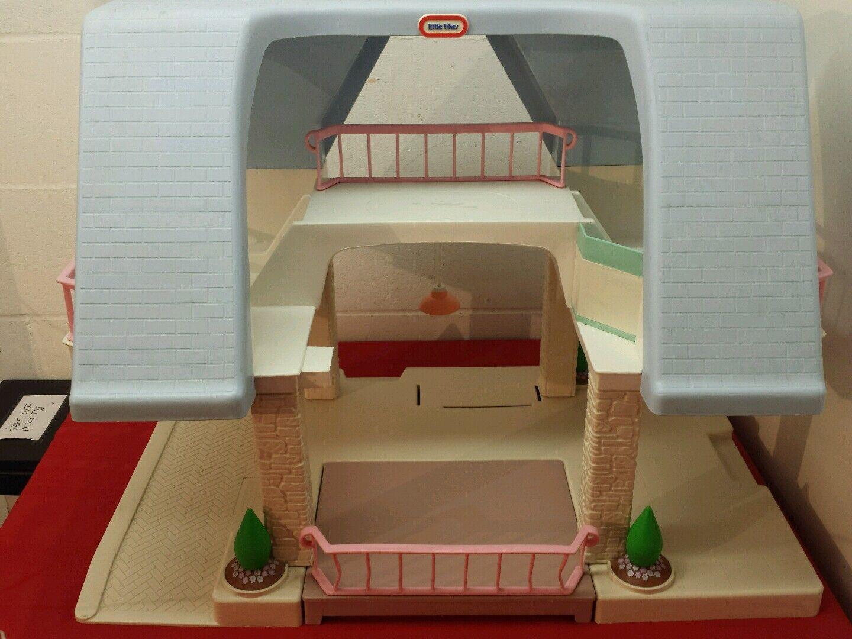 Ein wenig tikes puppenhaus blauen dach 1980 ist kein po box
