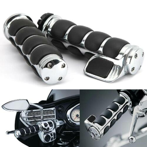 """Motorcycle Hand Grips 1/"""" For Harley Davidson Electra Glide Ultra Classic FLHTCU"""