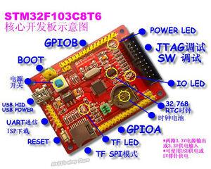 有關以下物品的詳細資料: STM32F103C8T6 Development Board RTC Crystals STM32 Core Board  for TTL Circuit