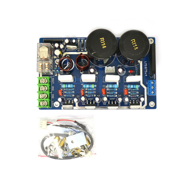 DIY Kits Lm1875 Dual Parallel Output HIFI Fever Power Amplifier Board Kits