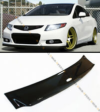 HIC 2012-15 HONDA CIVIC SI 2 DOOR COUPE FG4 SMOKE REAR TOP ROOF WINDOW VISOR