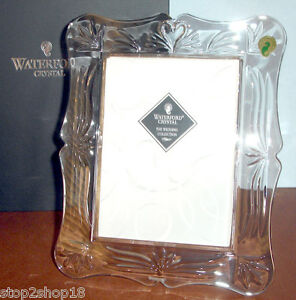 Waterford Crystal Wedding Picture Frame 5x7 Swanheart Motif
