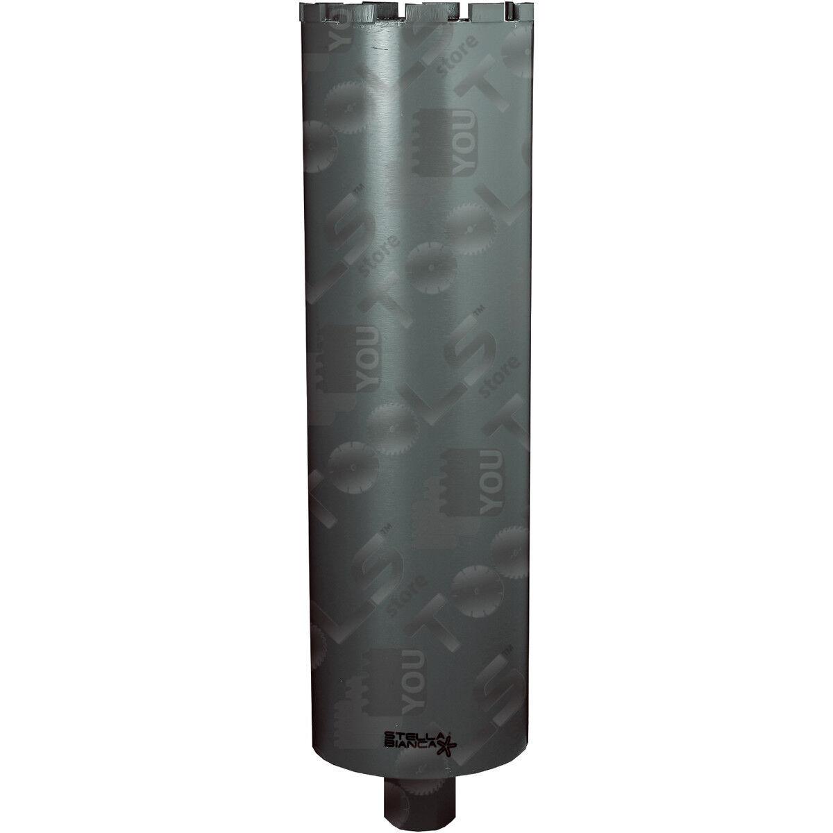 Foretti diamantati altezza 450 mm per cemento armato ad acqua -attacco 1 1 4 UNC