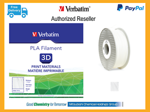 Computers/tablets & Networking White 3d Printer Consumables Verbatim 55268 Pla Filament 1.75mm 1kg