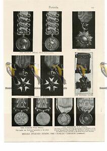 Crimea-War-Medals-Book-Illustration-Print-1895