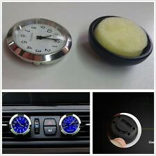 Vehicle A/C Vent 12 Hour System Clock Watch ℃&℉ Thermometer Kits Perfume Storage