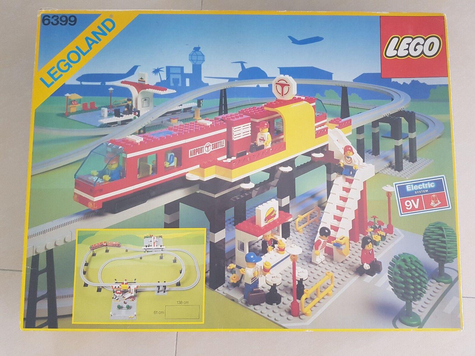 LEGO Legoland 6399 6399 6399 Airport Shuttle Monorail komplett mit Anleitung 6fdad2