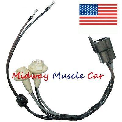 Hood Tach Wiring Harness 68 69 Pontiac Gto Judge Firebird T A Ebay