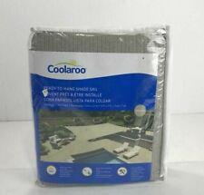 Coolaroo Ready To Hang Shade Sail 13x7 Brick