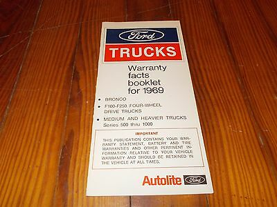 nos  ford bronco    trucks warranty facts
