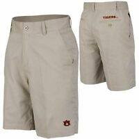 Auburn Tigers Mens Khaki Woven Shorts By Chiliwear Sz 30