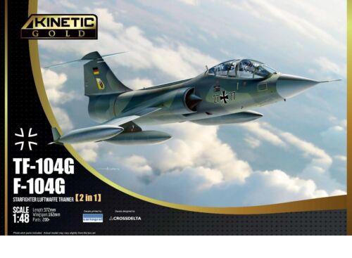 Luftwaffe Kinetic K48089-1:48 Lockheed TF-104G Starfighter Neu Bundeswehr