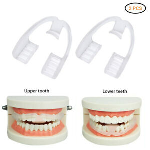 Details About 2pc Adult Dental Appliance Retainer Invisible Braces Buck Teeth Anti Molar Teeth