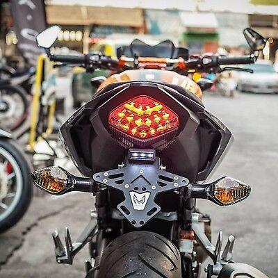 Motorrad Kennzeichenhalter for HONDA CBR 500R 500F Fender Eliminator CBR500R CB500F CBR-500F Anzahl Rahmen LED 2016-2020