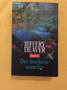 Jeffery Deaver- Der Insektensammler (TB) - Berlin, Deutschland - Jeffery Deaver- Der Insektensammler (TB) - Berlin, Deutschland