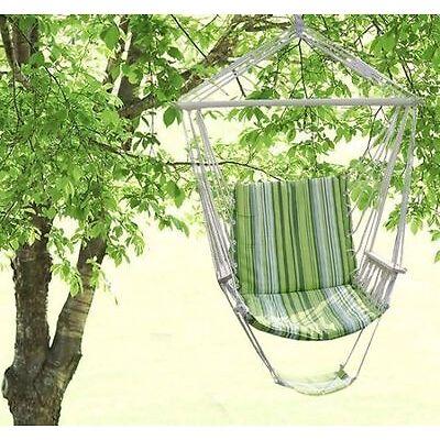 Chaise hamac fauteuil coton romantique coloré confortable balancelle 1 place