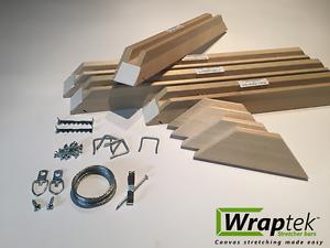 image is loading wraptek stretcher bar diy canvas frame kit 30 - Diy Canvas Frame