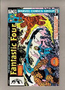 FANTASTIC FOUR #252_MARCH 1983_VERY FINE+_ANNIHILUS_JOHN BYRNE_TATTOOZ INTACT!