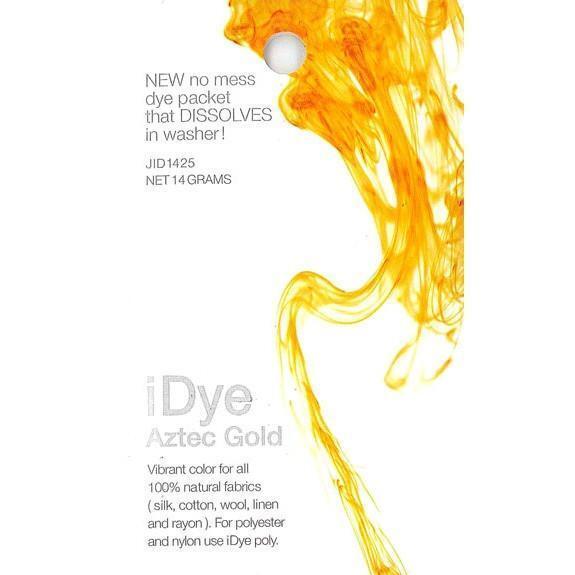 Jacquard iDye Fabric Dye 14g-Aztec Gold