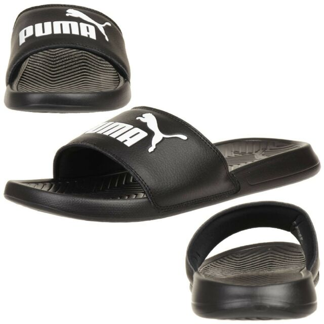 PUMA Popcat Unisex Adult Sandals Bath Slippers Black EUR 49 5  ff8c9a8d3