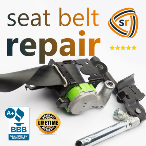 VW GLI Jetta Passat Dual-Stage Seat Belt Repair After Accident 2 Wire Plugs OEM