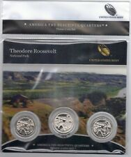 2016 PDS Fort Moultrie-America the Beautiful Quarters-3 Coin Set-Mint Sealed