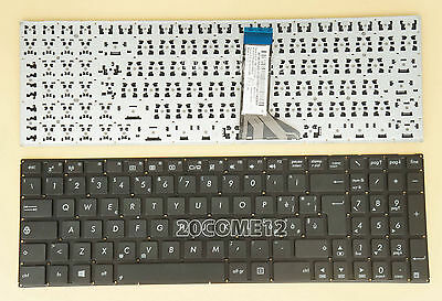 Original New Fit ASUS F553 F553M F553MA X553 X553M X553MA UK black keyboard