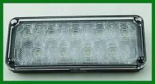 Rectangular Surface Mount 9 LED 7 X 3 Interior 2,750 Lumens Scene Load Light