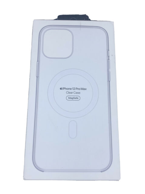 Apple Clear Case with MagSafe For iPhone 12 Pro Max - Clear (MHLN3ZM/A)