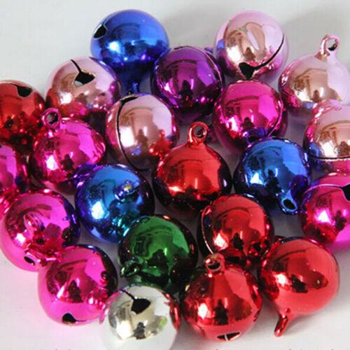 MixColors 10//80x Jingle Bells Copper Metal Fits Festival  PendantsDecor Pip
