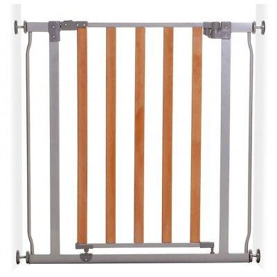 Dreambaby Cosmopolitan Legno E Metallo Cancello Di Sicurezza (76-82cm)-