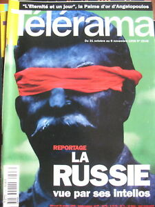 2546-RUSSIE-PAR-SES-INTELLOS-ANGELOPOULOS-AGASSI-STEPHANE-PAOLI-TELERAMA-1998