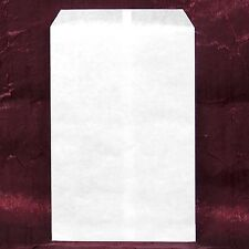 "200 pcs White Kraft Paper Merchandise Gift Bags Shopping Sales Tote Bags 6""x9"""