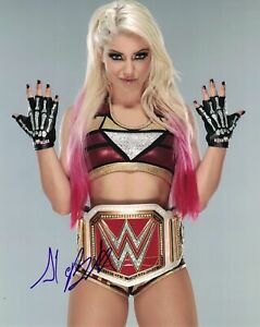 Alexa Bliss ( WWF WWE ) Autographed Signed 8x10 Photo REPRINT