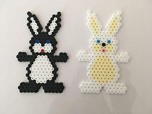 Détails Sur Pixel Art Perles A Repasser Lapin