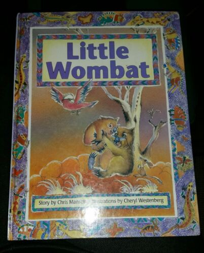 1 of 1 - LITTLE WOMBAT by CHRIS MANSELL Hardcover