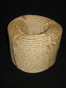 4MM X 220MTR SISAL ROPE EXCELLENT QUALITY AND VALUE,FREE DELIVERY AUSTWIDE