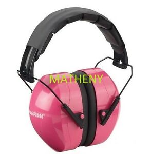 ear protection for shooting pink passive shooter earmuffs hearing protection 28847
