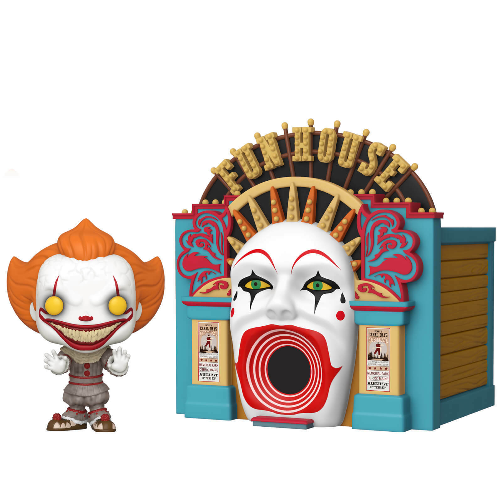 FUNKO POP  VINYL PENNYWISE IT CHAPTER 2 WITH FUNHOUSE  PREORDER