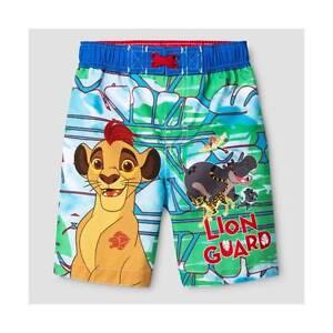The Lion Guard Little Boys Toddler Character Print Swim Short