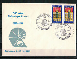 DDR-R-d-a-Sou-Minr-2891-Sst-Rudersdorf-100-Annees-Ciment-01-10-1985