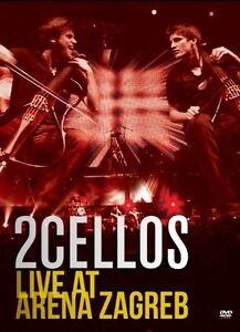 2-CELLOS-Sulic-amp-Hauser-Live-at-Arena-Zagabria-DVD-DVD-Klassik-Pop-Nuovo