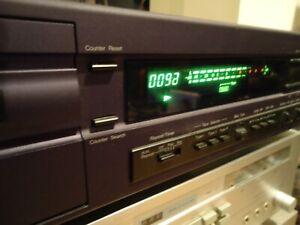Nakamichi-Cassette-Cubierta-2-Vintage-Stereo-Cassette-Deck-agradable-mira