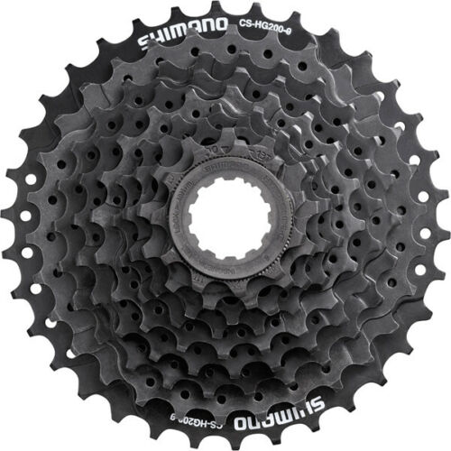 Shimano Acera CS-HG201 Bicycle Cycle Bike 9-Speed Cassette Silver