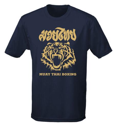 muay thai Tiger T-shirt performance Wicking Poids Léger Tee Boxe thai